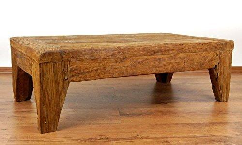Java Couchtisch | Recyceltes Bootsholz | Asiatischer Wohnzimmertisch | Designer Möbel aus Bootsholz | Massivholztisch der Marke Asia Wohnstudio | Kaffeetisch aus Bootsholz | Bodentisch