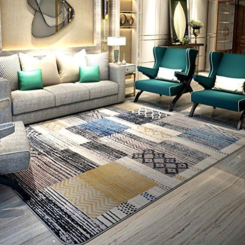 Bath Time Flagship Store LUYIASI- Teppich Wohnzimmer Couchtisch Schlafzimmer Nachttischdecke Moderne minimalistische…