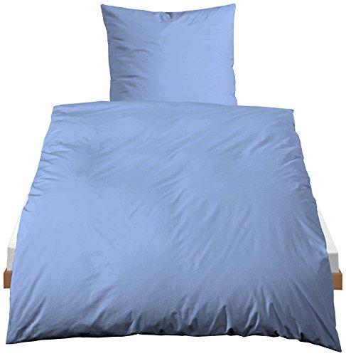 Traumhaft Schlafen - Castell – Markenbettwäsche 0040500 Bettwäsche Garnitur mit Kopfkissenbezug Linon 1x 135x200 cm + 1x…