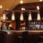 Lixada Pendelleuchte, Innenleuchte, Vintage, Retro, Dreifach-Lampe, Metall, bronzefarben, für 5 Leuchtmittel E27 Bar Dekoration (Leuchtmittel nicht im Lieferumfang enthalten)