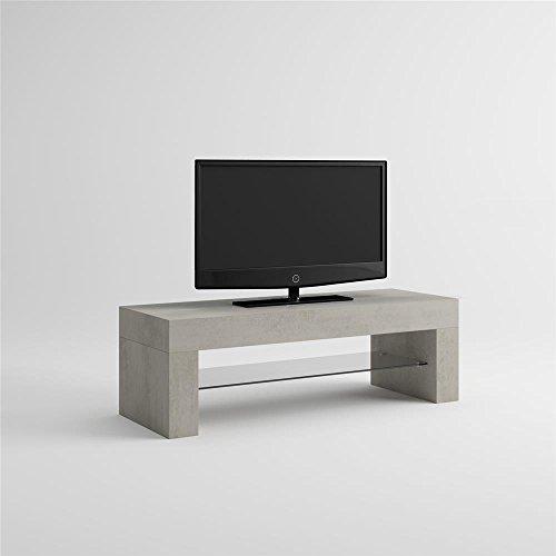 MOBILIFIVER Evo Mobile-TV, Holz, Beton, 112x 40x 36cm