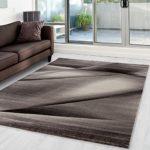 Moderner Designer Wohnzimmer Teppich Miami 6590 Braun - 200x290 cm