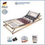 Ravensberger Matratzen Duomed® Lattenrost | 7-Zonen-Buche-Teller-Lattenrahmen | Teller und Leisten| verstellbar| MADE IN GERMANY - 10 JAHRE GARANTIE | TÜV/GS 90x200 cm