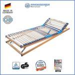 Ravensberger Matratzen Meditop Lattenrost | 5-Zonen-Buche-Lattenrahmen | 30 Leisten | Verstellbar | MADE IN GERMANY - 10 JAHRE GARANTIE | TÜV/GS 90x200 cm
