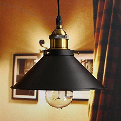 Retro Pendelleuchte, Hängeleuchten, Alte Lampe Industrielle Pendelleuchten