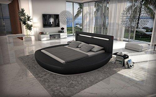 Sofa Dreams Rundbett Riva 180x200cm Doppelbett Designerbett Wasserbett vielen Farben und Größen