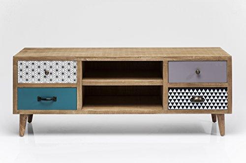 TV Board Capri, schmaler, kleiner TV Schrank, modernes Sideboard im Retrolook, (H/B/T) 47x118x38cm