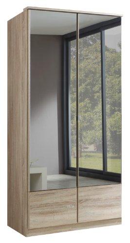 Wimex Kleiderschrank/ Drehtürenschrank Imago, (B/H/T) 90 x 199 x 58 cm, Eiche Sägerau
