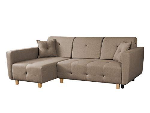 mirjan24 ecksofa seven mit bettkasten und schlaffunktion. Black Bedroom Furniture Sets. Home Design Ideas