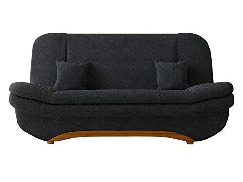 Mirjan24  Sofa Weronika Lux Sale mit Bettkasten und Schlaffunktion, Schlafsofa, Große Farb- und Materialauswahl, Couch vom Hersteller, Wohnlandschaft (Boss 14)