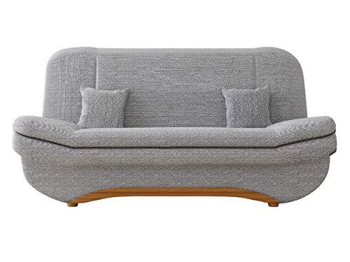 Mirjan24  Sofa Weronika mit Bettkasten und Schlaffunktion, Schlafsofa, Große Farb- und Materialauswahl, Couch vom Hersteller, Wohnlandschaft (Florida 01)