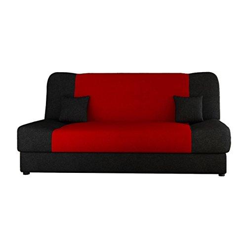 Schlafsofa Jonas Style, Sofa mit Bettkasten und Schlaffunktion, Bettsofa, Schlafcouch, Microfaser, Couch vom Hersteller…