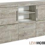 Generic Sideboard Wohnzimmer WOHNWAND ANBAUWAND Beton-Optik MATT 417337