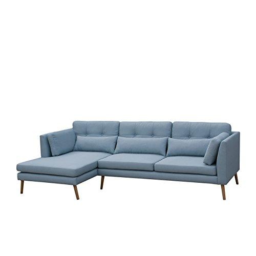 Ecksofa Pacyfic I Modernes Sofagarnitur Couchgarnitur Sofa Couch inkl. Kissen-Set, Eckcouch Lounge Polsterecke (Lux 29, Seite: Links)