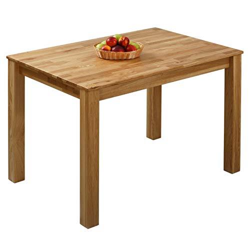 Mäusbacher 0588104 Tisch rund Weiss mattEdelstahloptik