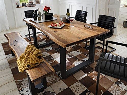 """Esszimmertisch Esstisch Küchentisch Tisch Massivholztisch Holztisch """"Marry I"""" (180x77x90 cm)"""