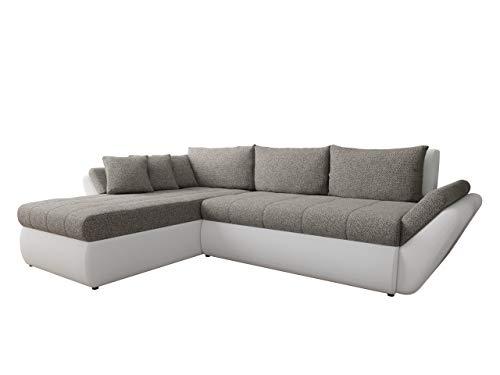 Mirjan24 Ecksofa Logo, Couchgarnitur, freistehendes Polsterecke L-Form Sofa, Wohnlandschaft Couch (D-511 + Bering 23…