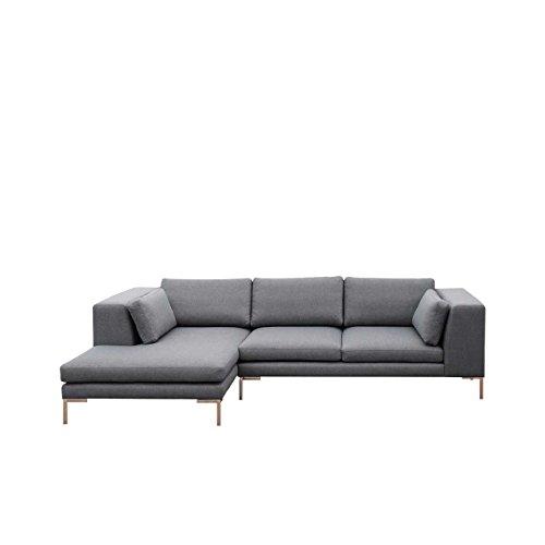 Mirjan24  Ecksofa Ocean I Sofagarnitur, Couchgarnitur XXL Sofa Big Couch inkl. Kissen-Set, Sofa Couch Lounge Eckcouch Polsterecke (Seite: Links, Inari 91)