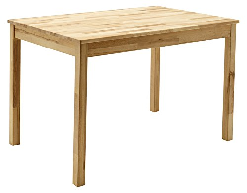 Robas Lund, Tisch, Esszimmertisch, Alfons, Kernbuche/Massivholz, 110 x 76 x 70 cm, ALF110KB