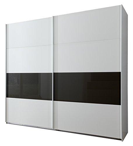 Wimex Kleiderschrank/ Schwebetürenschrank Roberto, (B/H/T) 225 x 210 x 65 cm, Weiß
