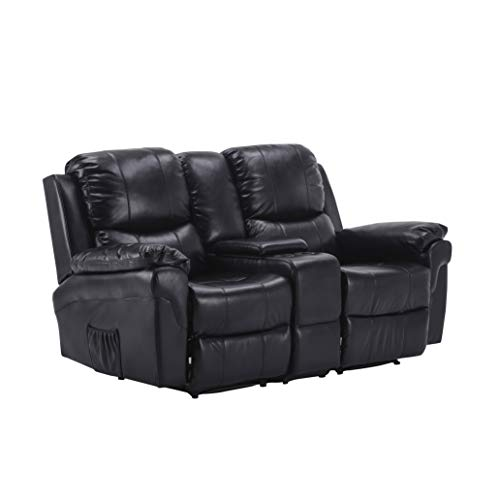 MCombo Kinosessel Fernsehsessel Relaxsessel 2-Sitzer Heimkino Cinema Sessel Sofa