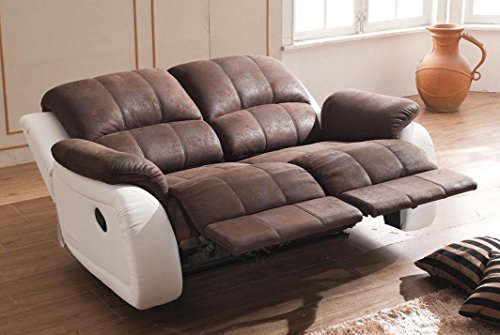 Relax Sofa Couch Fernsehsessel Relaxsessel Fernsehsessel 5129-2-PU sofort