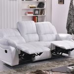 Voll-Leder Fernsehsessel Couch Sofa Relaxsessel Polstermöbel 5129-3-W