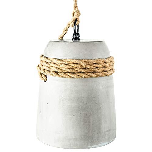 Moderne Hängeleuchte CEMENT COLLECTION IV Beton Industrial Design Pendelleuchte Lampenschirm Betonlampe Hängelampe