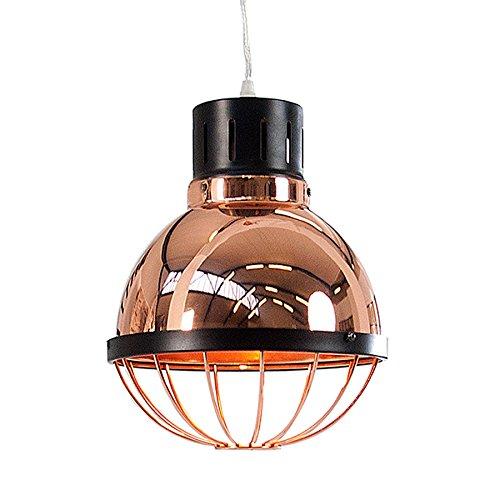 Moderne Hängeleuchte Industrie FACTORY kupfer 25cm Deckenlampe E27 Industrielampe Pendelleuchte Beleuchtung Deckenleuchte