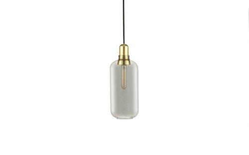 Normann Copenhagen Amp Brass Hängeleuchte groß - Rauch/Messing - Simon Legald - Design - Pendelleuchte - Wohnzimmerleuchte