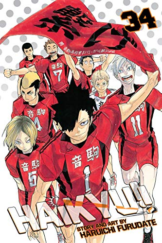 Haikyu!!, Vol. 34: Cats' Claws (English Edition)