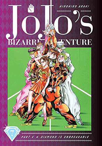 JoJo's Bizarre Adventure: Part 4 -- Diamond Is Unbreakable, Vol. 7 (Jojo's Bizarre Adventure Diamond Is Unbreakable…